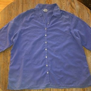 FRESH PRODUCE  printed 100% cotton  3/4 sl shirt